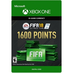 FIFA 18 Ultimate Team 1600 FIFA Points Digital (Código) / Xbox One